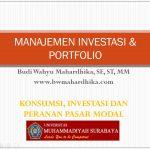 Slide Manajemen Investasi & Portfolio